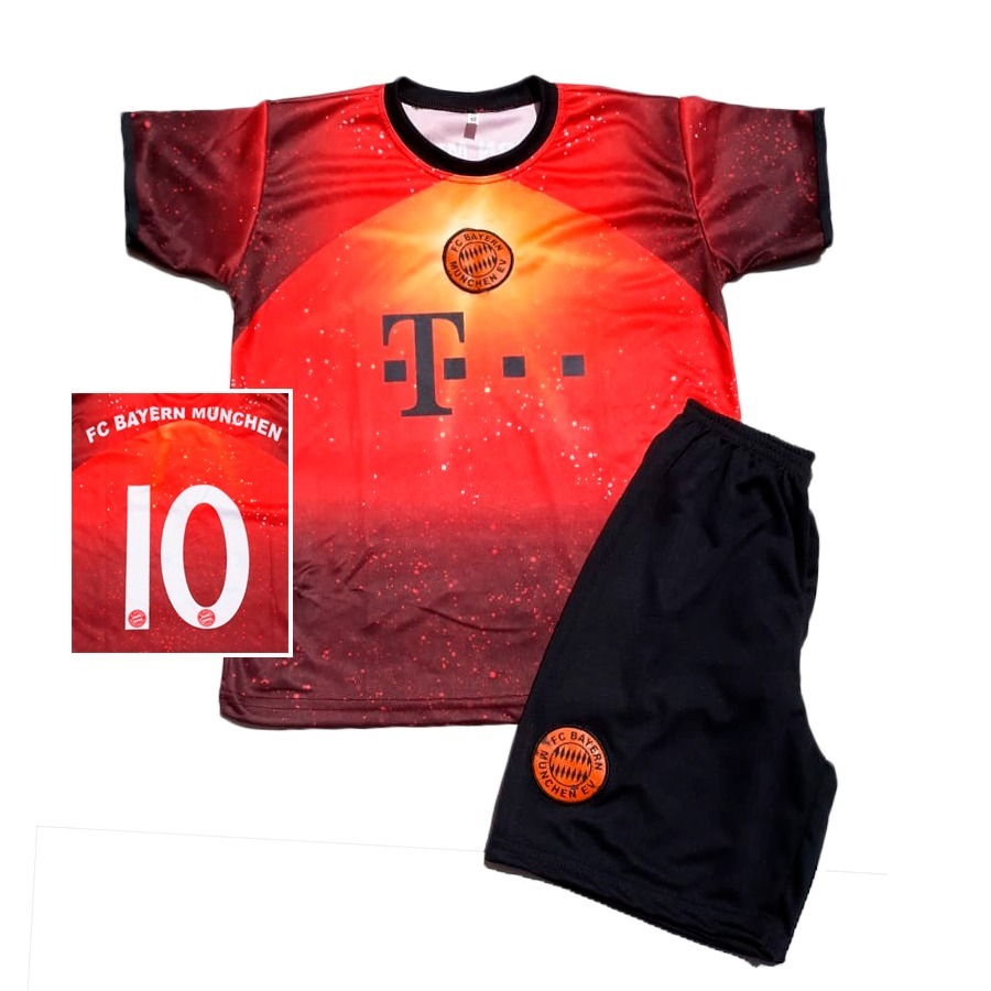 137c2ebfb3cf6 Kit Atacado 4 Conjuntos Futebol Uniforme Menino Futebol - R  120