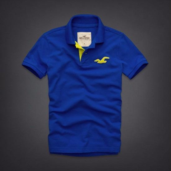 a375ef9361 Kit Atacado 40 Camisas Polo Masculina Hollister Abercrombie - R  899 ...