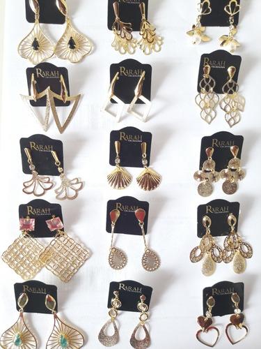 kit atacado 52 semi jóias folheadas a ouro para revender