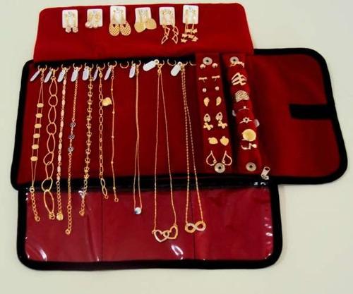 kit atacado semi joias 90 peças + mostruário grátis