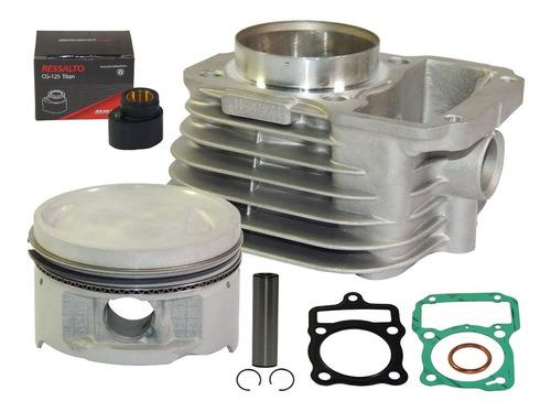 kit aumento potencia titan 125 2003/fan2008 c/comando 296°