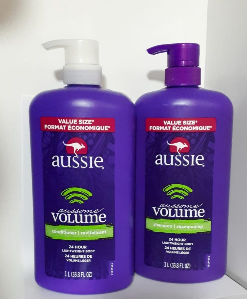 5e262c3070 kit aussie aussome - shampoo e condicionador 1 litro cada !! Carregando  zoom.