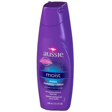 kit aussie shampoo, condicionador, moist milagre 3 minutos