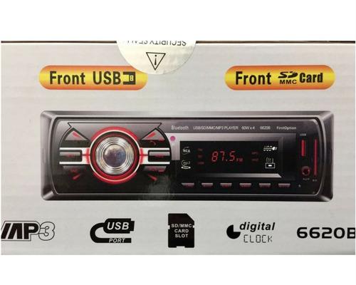 kit auto radio mp3 bluetooth + falante 6 + 6x9 pol + antena