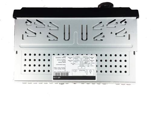 kit auto radio mp3 bluetooth + falante 6 + falante 6x9 pol