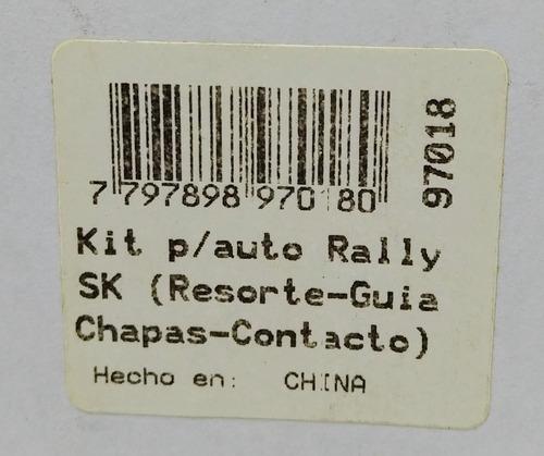 kit auto rally resorte guia chapa scalextric 1/32 sk 97018