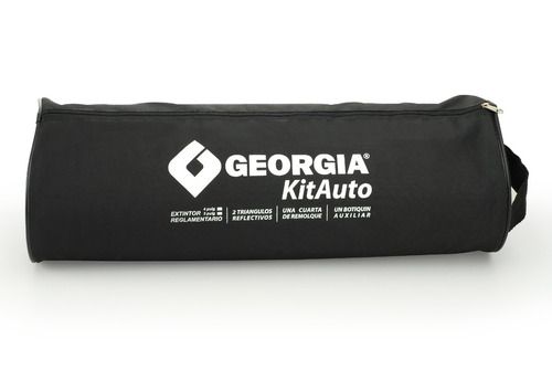 kit auto reglamentario georgia 7 - 1 matafuegos funda cuotas