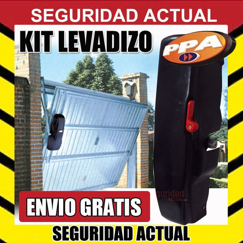 kit automatizacion motor  1/2 hp porton levadizo ppa torsion