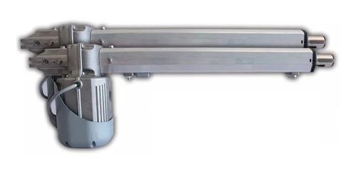 kit automatización portón electrico abatible pivus combat