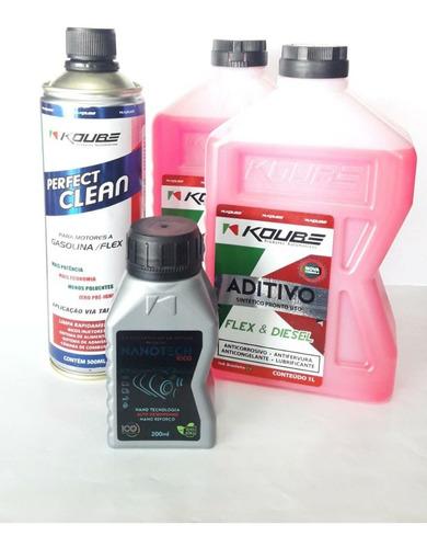 kit automotivo perfect clean nanotech aditivo**temos compl