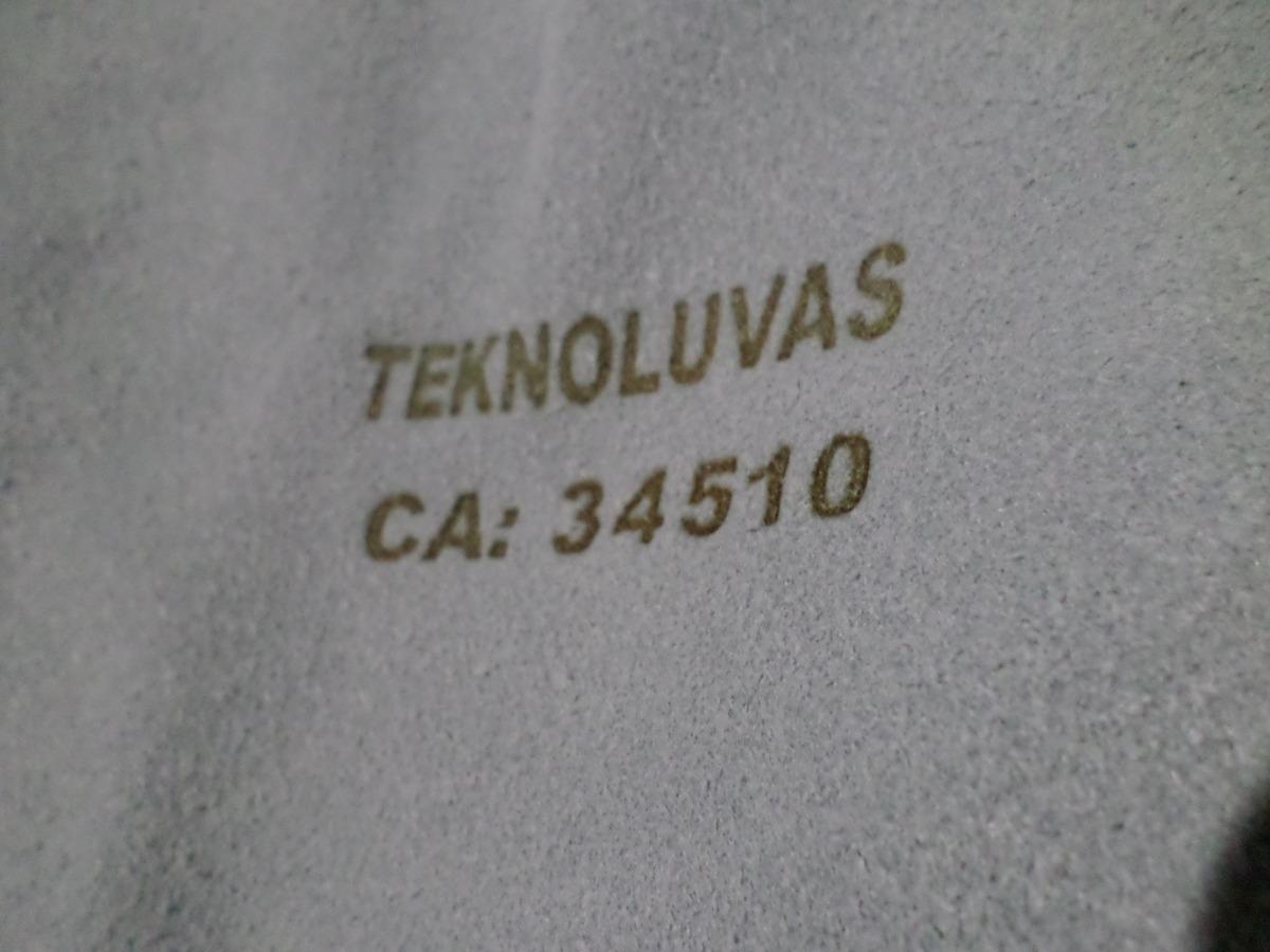 d4cb25129bfef Kit Avental De Couro Barbeiro Soldador + Luva Termica S Weld - R  89 ...