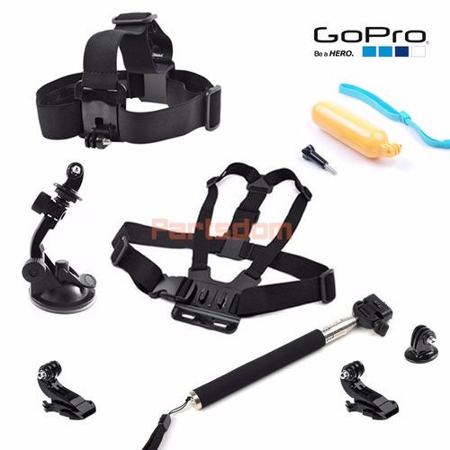 kit aventura go pro hero acessórios gopro 2 3 3+ 4 hd sj4000