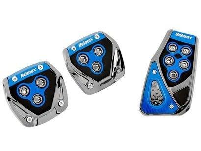 kit azul capa banco carro+tapete+vol+pedal parati 97 98 99