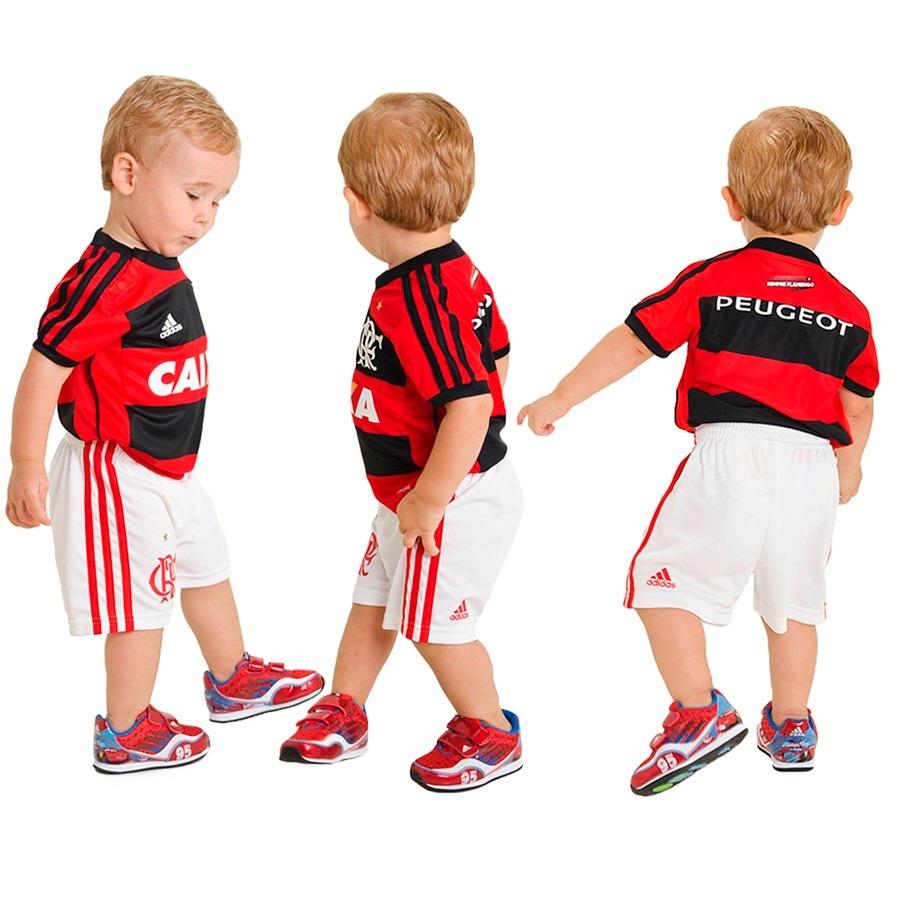 kit baby adidas original uniforme flamengo infantil 1magnus. Carregando zoom . 6da1148f408bc