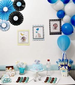 Kit Baby Shower Decoración De Mesa Obsequios Y Souvenirs