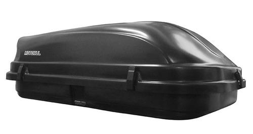 kit bagageiro teto trailblazer 600 l 50kg preto + travessa