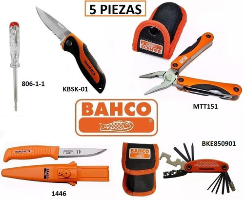 kit bahco 5 piezas mtt151 1446 bke850901 kbsk-01 806-1-1