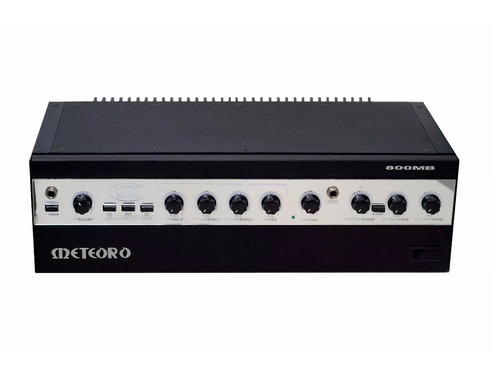 kit baixo cabeçote meteoro 800mb 400w caixa 410bs completo