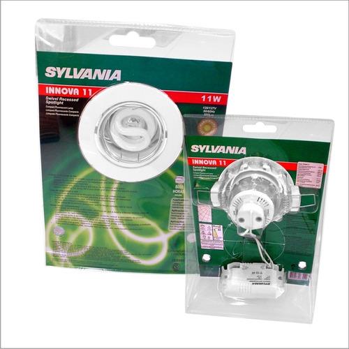 kit bala innova c/balasto 11w luz calida ahorrador sylvania