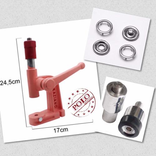 kit balancim + matriz botão n.35 + botão tic tac n.35