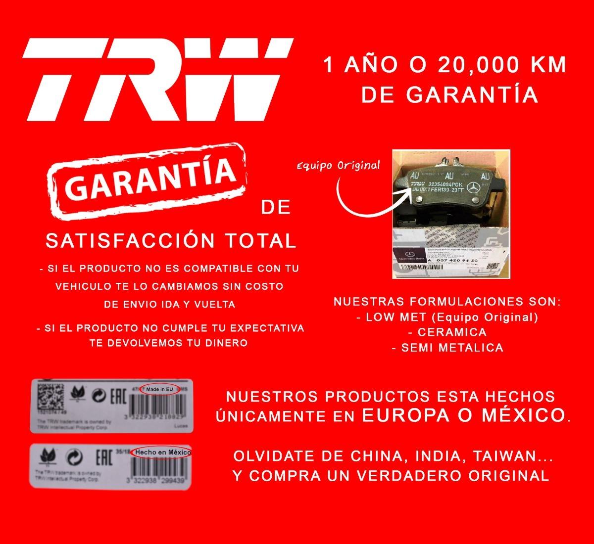 TRW GDB2087 Pastillas de Frenos