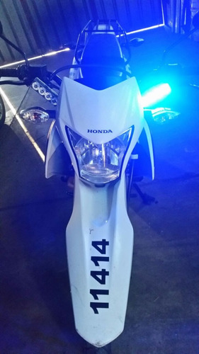 kit baliza led para moto y sirena - ranger - baliza + sirena