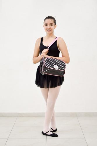 kit ballet balé roupa infantil preto olga georgia frete grát