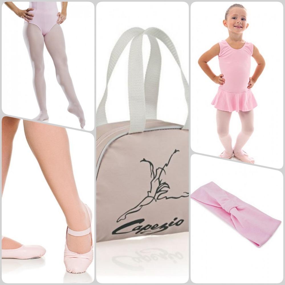 2a07d15a3e kit ballet completo capezio bolsa collant sapatilha meia. Carregando zoom.
