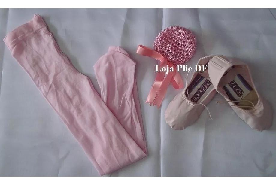 bf02e46639b624 Kit Ballet Infantil Roupa De Bale Saia Rodada 12 A 16 Anos