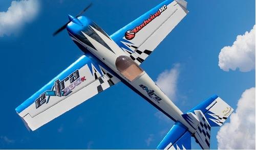 kit balsa aeromodelo extra 330s elétrico asa 1025mm avião