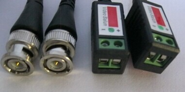 kit balun transceptor video y corriente utp cctv camaras