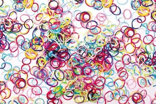 kit band pulseira 3000 elásticos + clips + tear + agulha