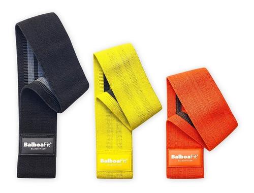 kit bandas elasticas circular fitness resistencia balboafit
