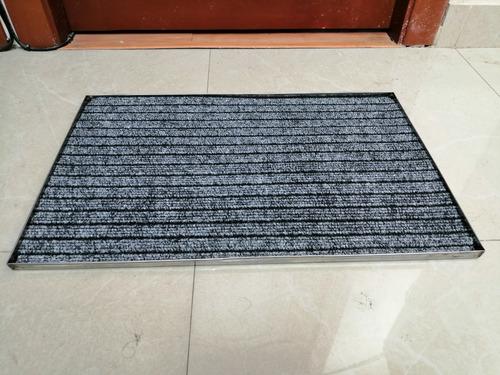 kit bandejas para desinfección de calzado con alfombra