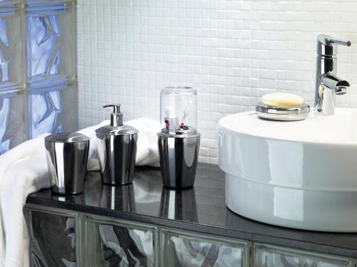 kit banheiro aço