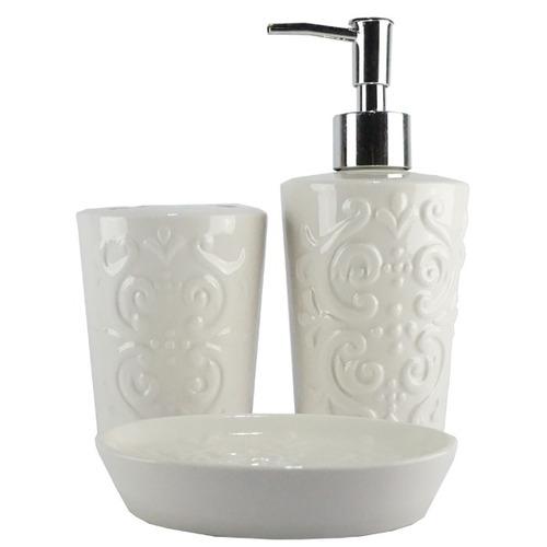 kit banheiro utensílios