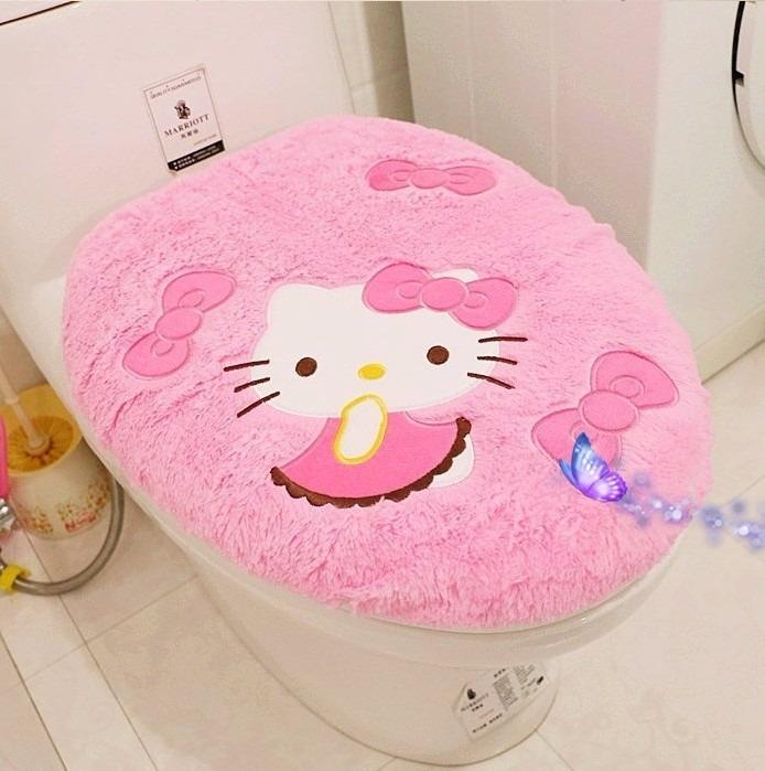 Accesorios De Baño Hello Kitty:Kit Baño Hello Kitty Envio Gratis – $ 1,50000 en Mercado Libre