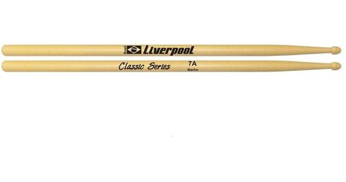 kit baqueta 5a 7a stacatto e metal profissional liverpool
