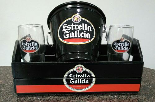 Kit Bar Kit Boteco Home Bar Estrella Galicia