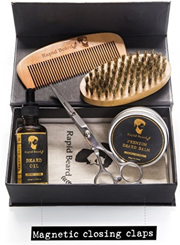 kit barba bear man grooming acondicionador hombre