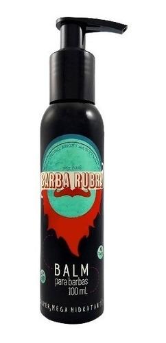 kit barba rubra shampoo + gel para barbear + óleo + balm