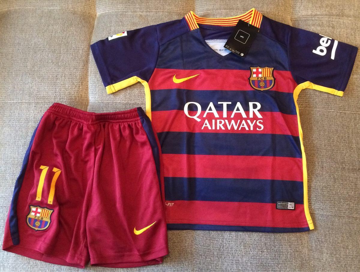 kit barcelona infantil neymar oficial - pronta entrega. Carregando zoom. b1197c0cabf6a