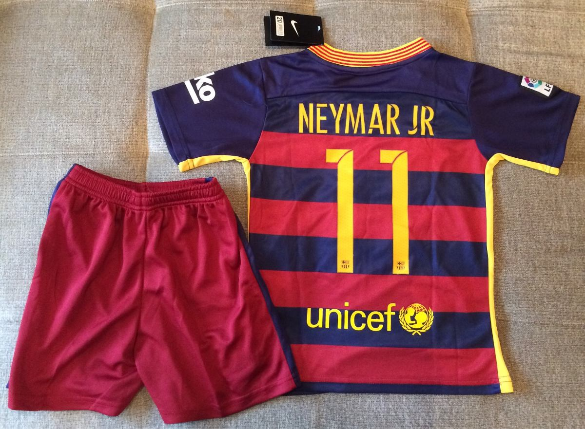 57d612108bf87 kit barcelona infantil neymar oficial - pronta entrega. Carregando zoom.