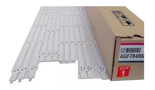 kit barra de led lg 47ln5400/47ln5700/47la6200/47la6130 novo