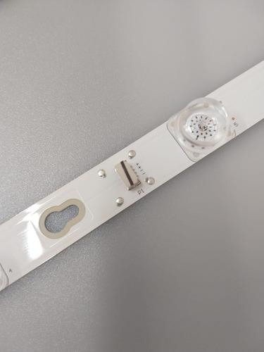 kit barra de led toshiba 40l2600 l40d2900f 40d2900 nova orig