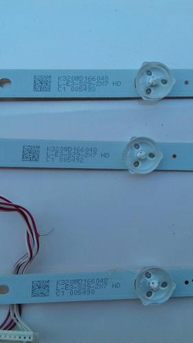 kit barra de led tv aoc le32h1465/25