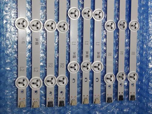 kit barra de led tv lg 42ln5400 42ln5700 42la6130 nova!