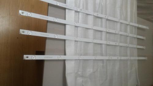 kit barra de led tv philco ptv49e68dswn