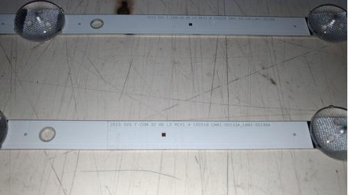 kit barra de led tv samsung un32j4300ag o par