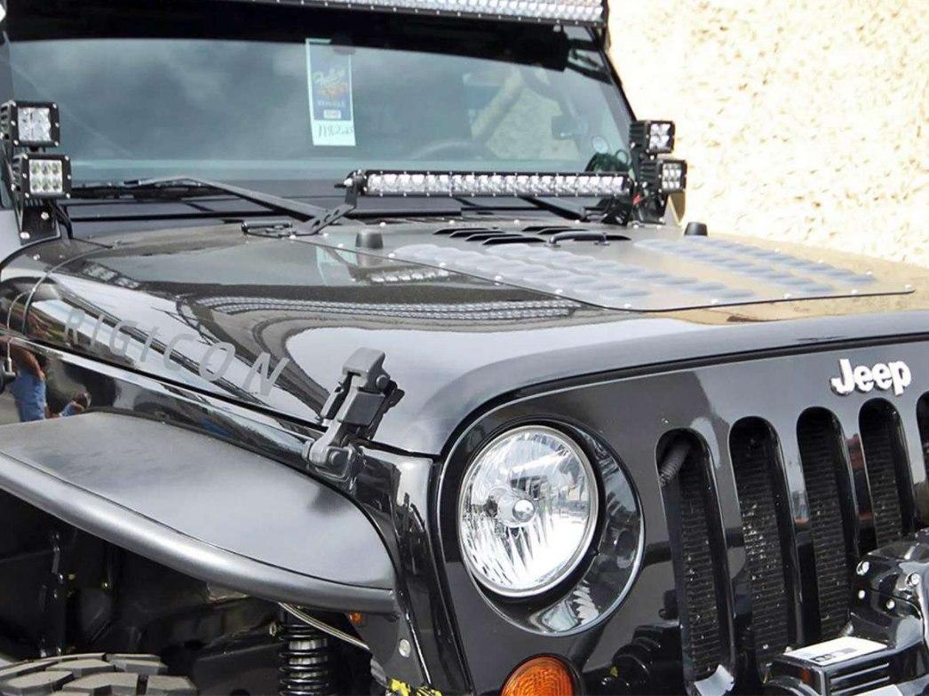 Kit Barra Led 20 Cofre Jeep Wrangler Jk Cree Rubicon